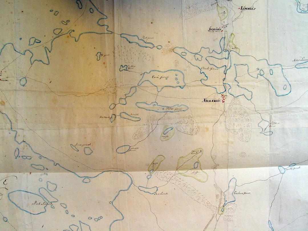 Sysmä Kartta