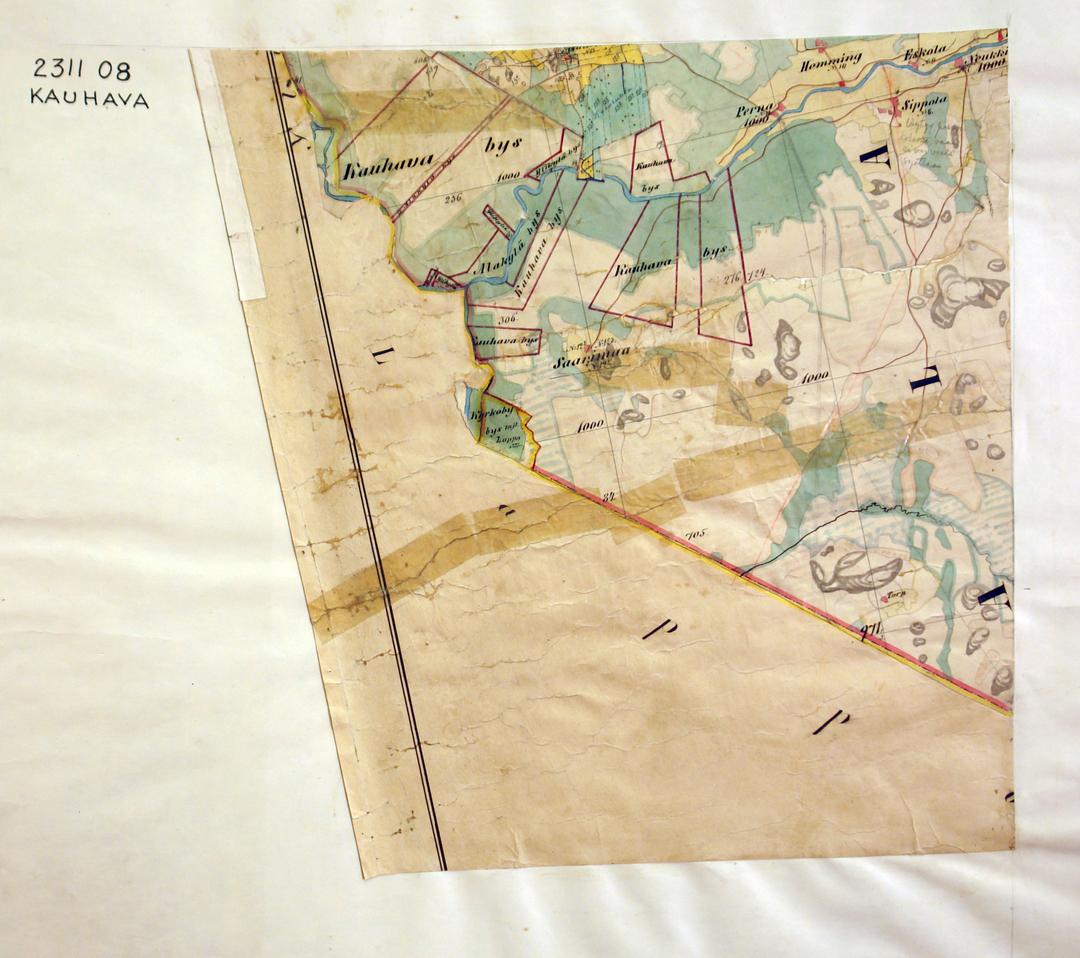 Kartta Lapua