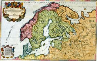 Ranskalainen Sansonien Perhe 1600 Luvulla Suomen Kartoittajana