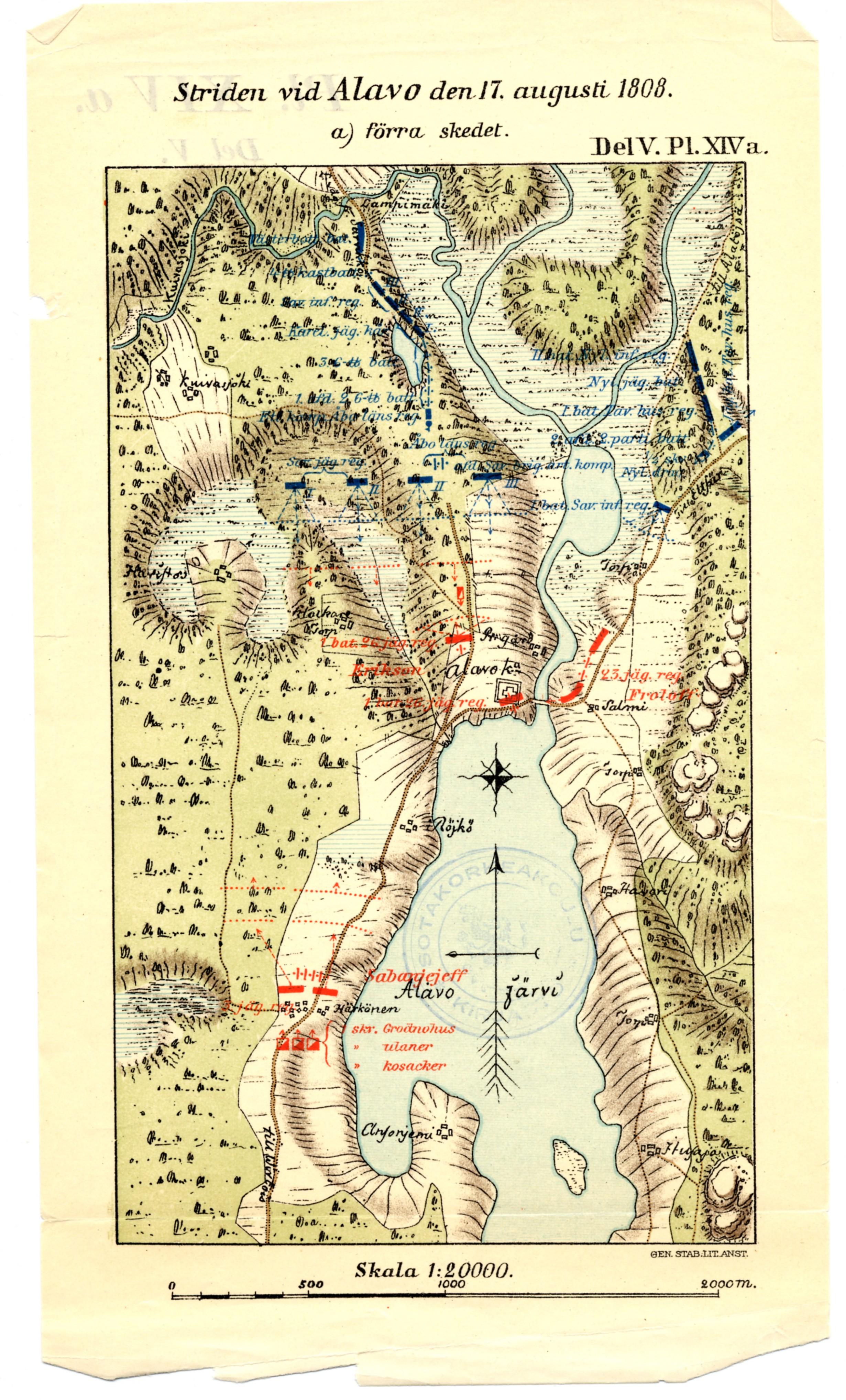 Alavus 17 8 1808 Kartta Jyx Expo