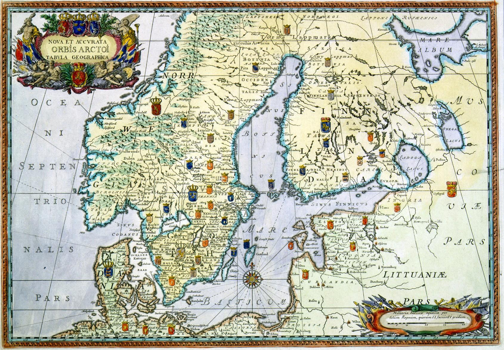 Ruotsin Valtakunta Kartta Jyx Expo