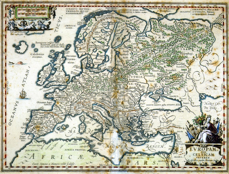 Euroopan Muinaiset Kansat Kartta Jyx Expo