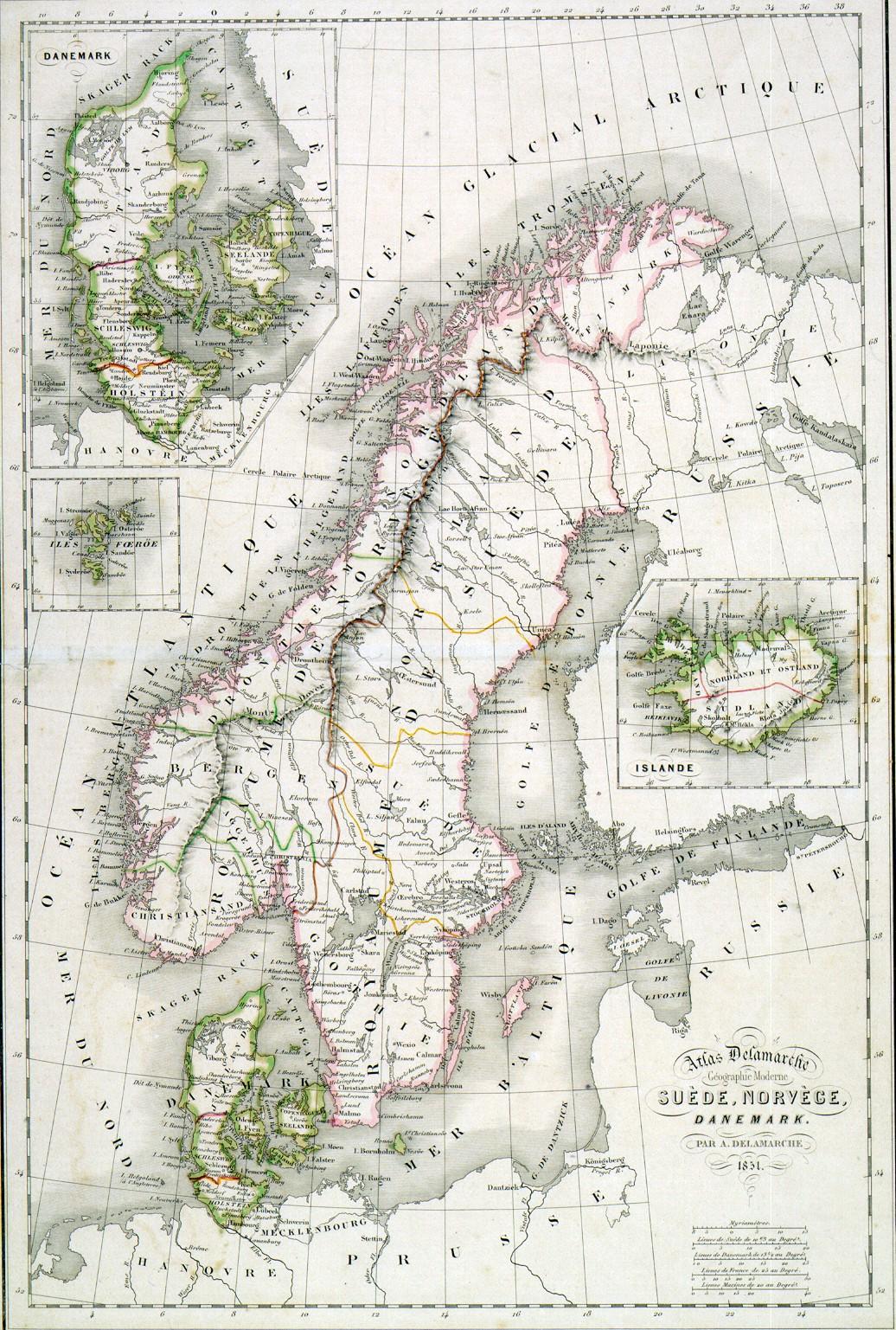 Pohjoismaat Kartta Jyx Expo