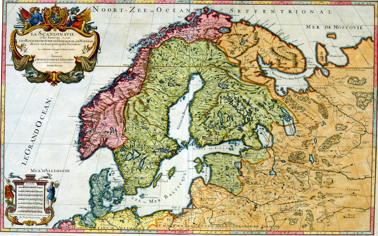 Skandinavia Kartta Jyx Expo